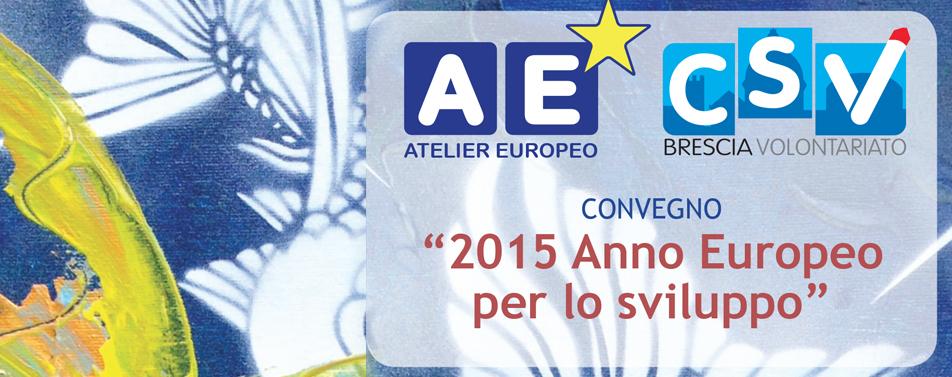 Convegno 2015 Anno Europeo per lo sviluppo