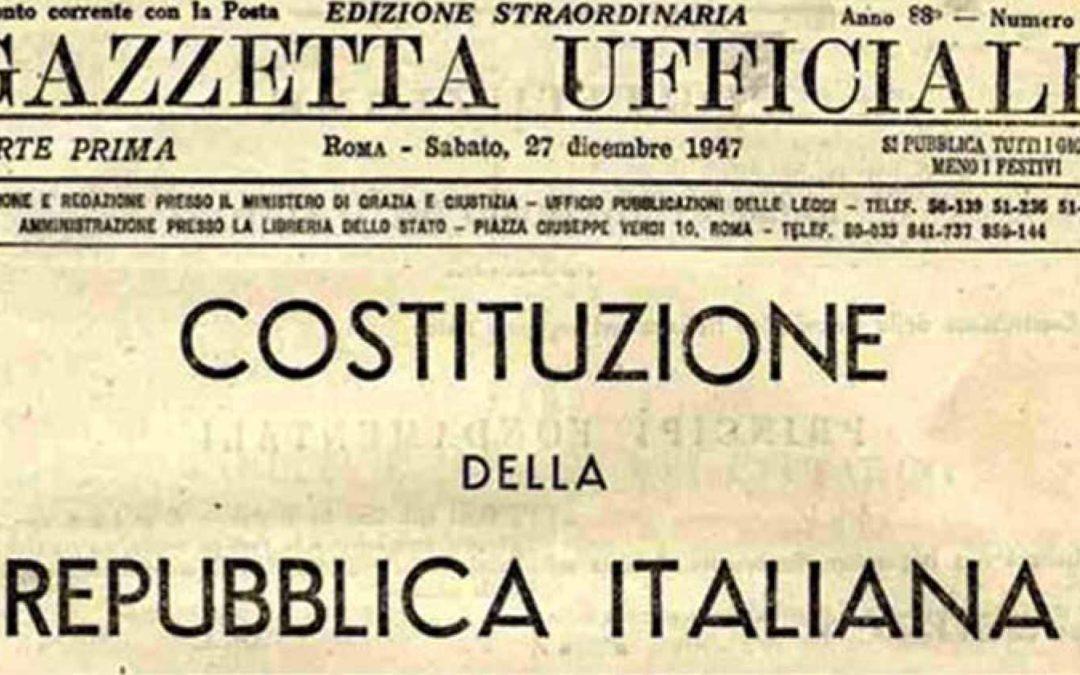 Duemila anni di Cristianesimo, 70 anni di Costituzione
