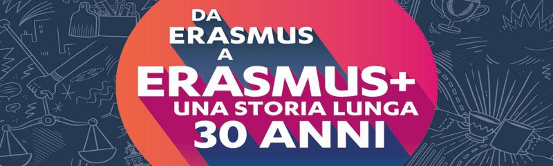 Erasmus Plus compie 30 anni