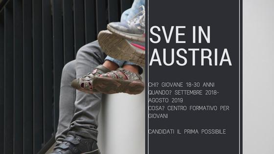 Opportunità SVE in Austria all'interno di un centro di formazione