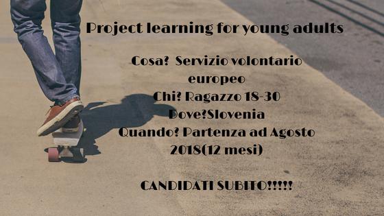 SVE in Slovenia in un centro  di formazione per giovani