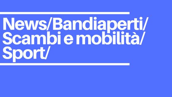 Apertura Bando: Scambi e mobilità nello sport