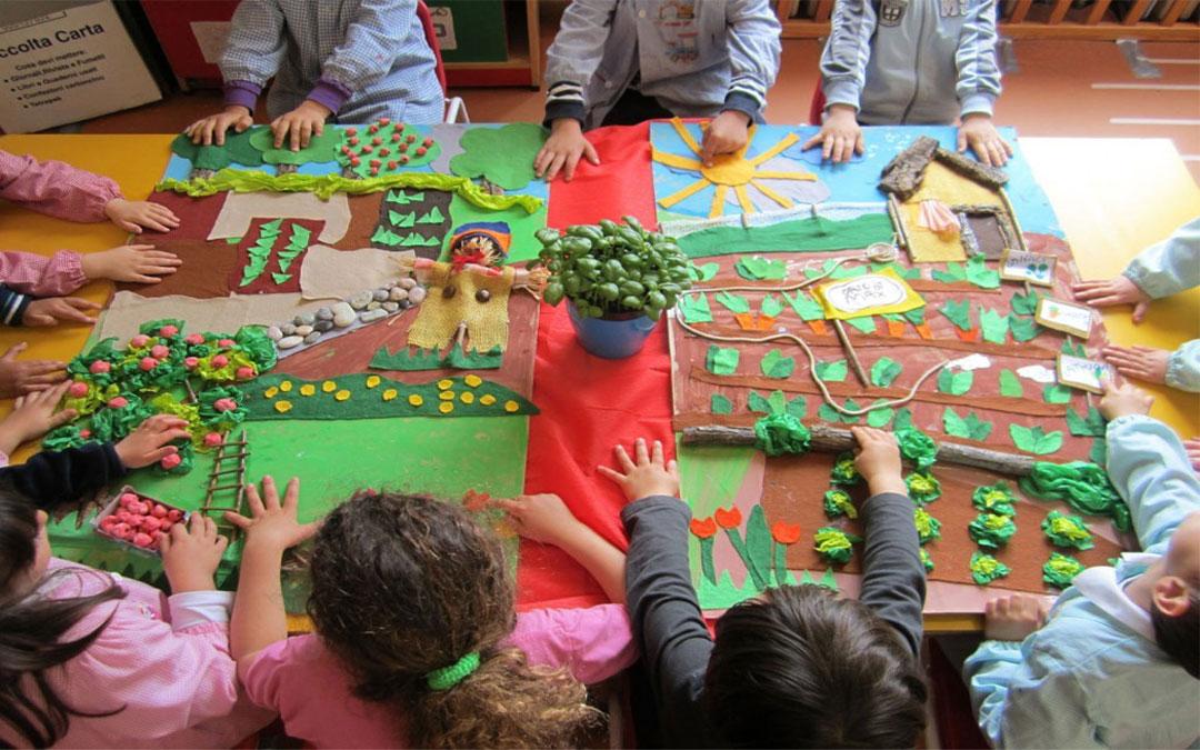 SVE in Lettonia all'interno di una scuola per l'infanzia