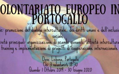 Volontariato Europeo in Portogallo