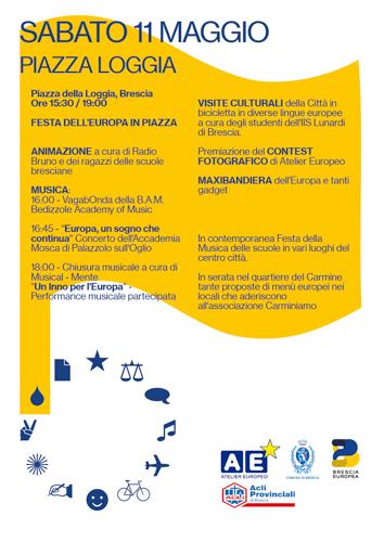 Festa Europa 11 Maggio