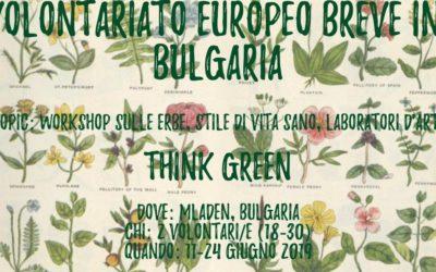 Volontariato Europeo Breve in Bulgaria