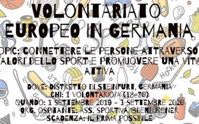 Volontariato Europeo in Germania