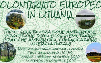 Volontariato Europeo in Lituania
