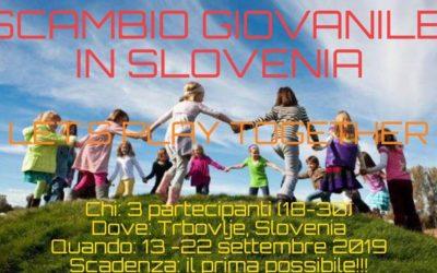 Scambio Giovanile in Slovenia