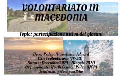 Volontariato in Macedonia