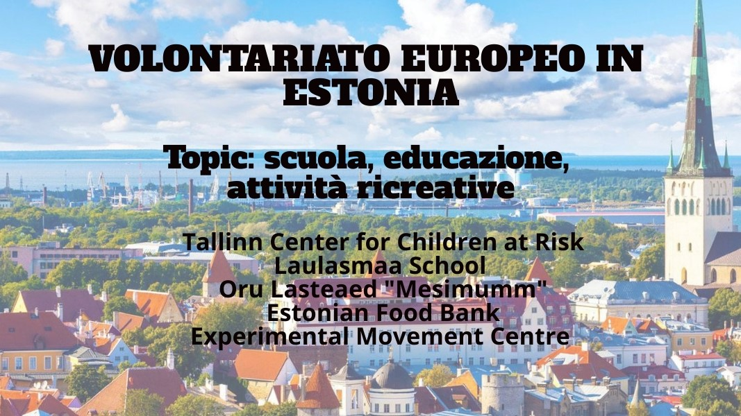 Diverse opportunità di volontariato europeo in Estonia