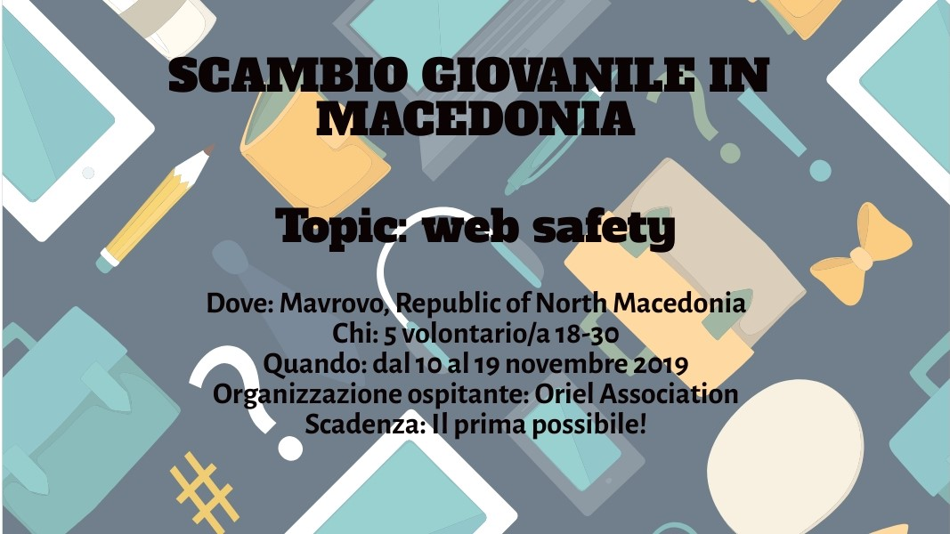 Scambio giovanile in Macedonia