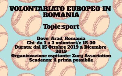 Volontariato Europeo in Romania