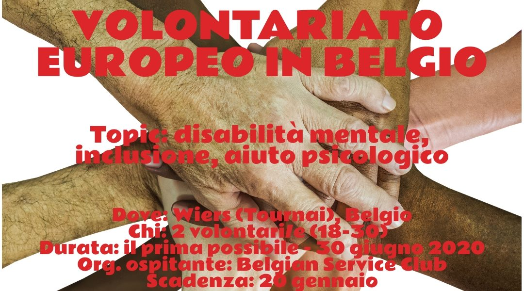 Volontariato Europeo in Belgio