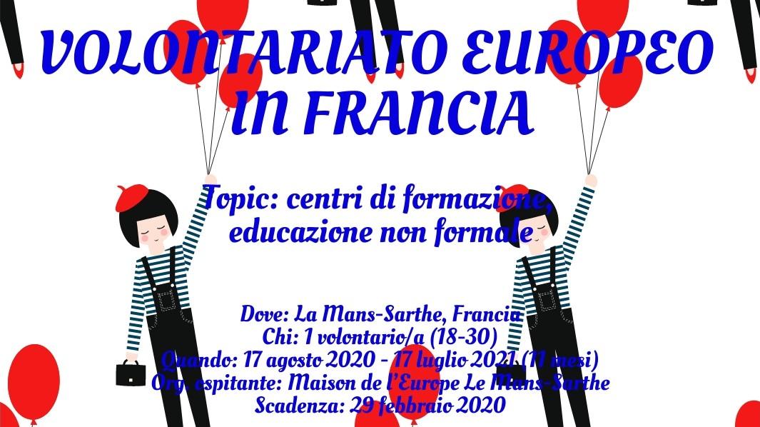 Volontariato Europeo in Francia