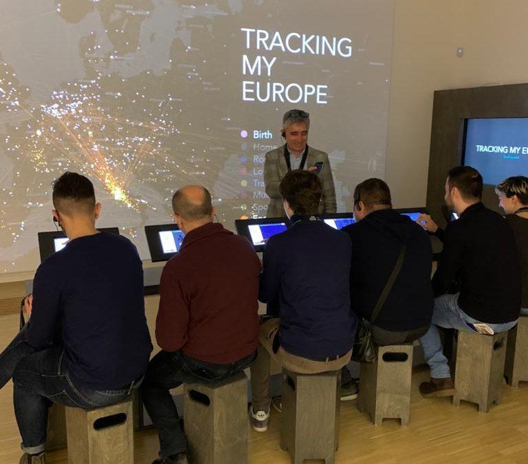 Viaggio studio a Bruxelles per la delegazione di Atelier Europeo
