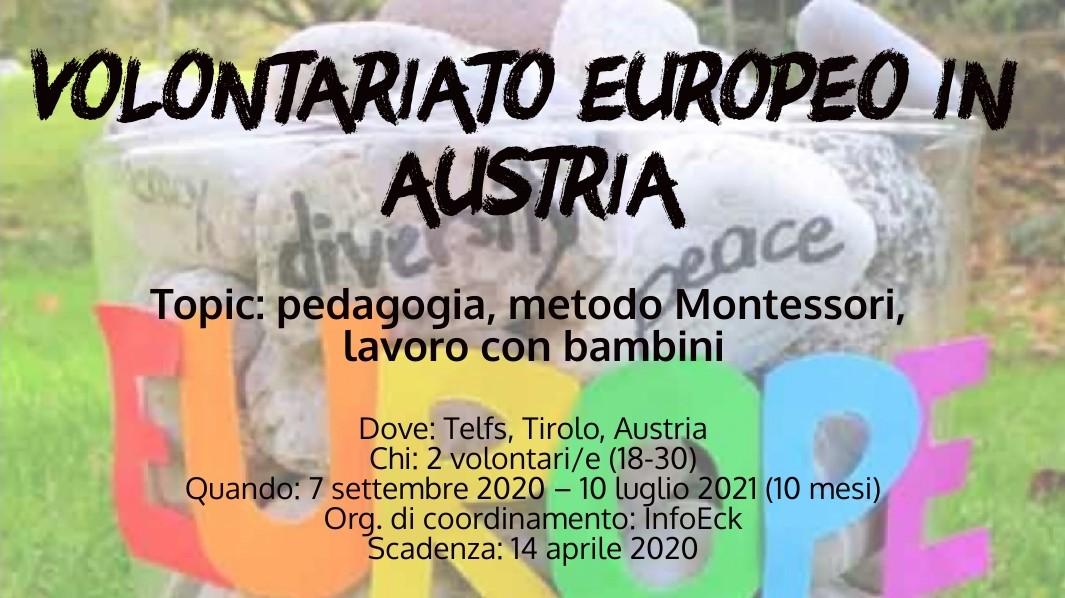 Volontariato Europeo in Austria