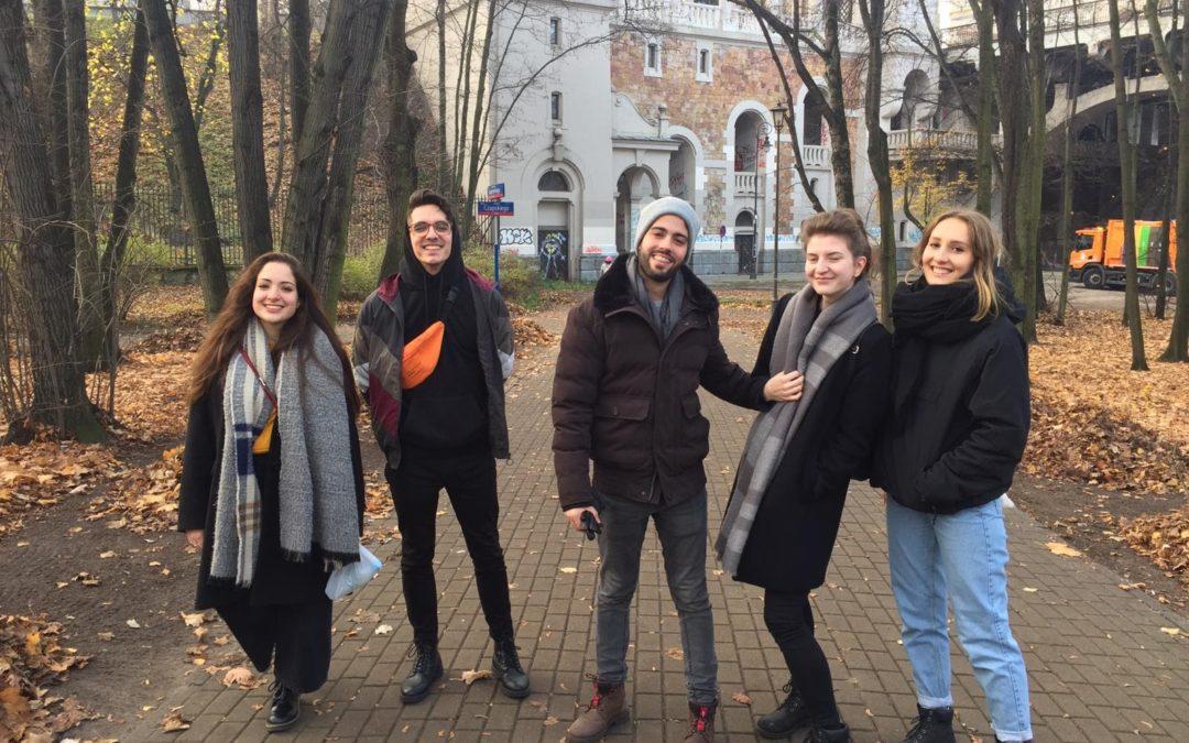 I giovani in mobilità internazionale; proseguono i progetti di volontariato con Atelier Europeo