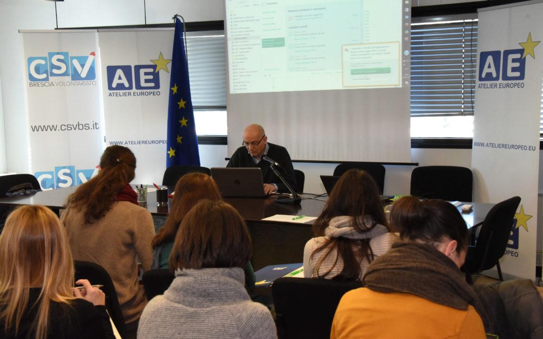 Corso in Europrogettazione per il Terzo Settore con Atelier Europeo