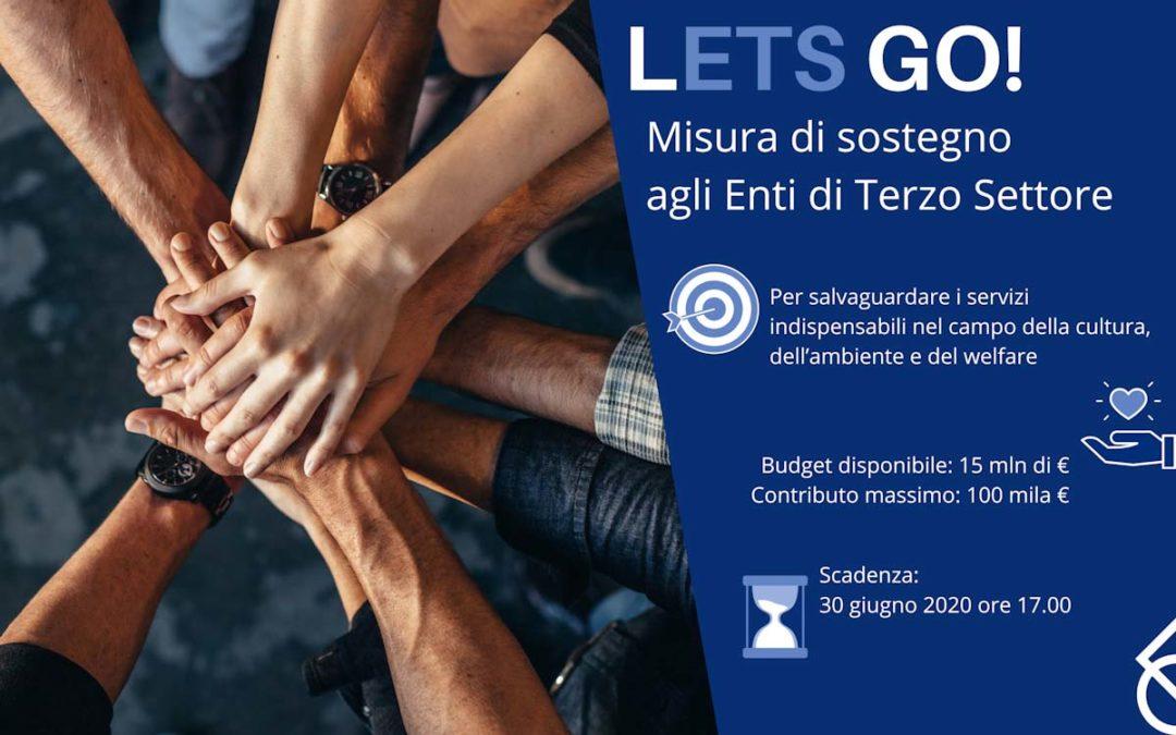 Bando LETS GO! Fondazione Cariplo per il Terzo Settore