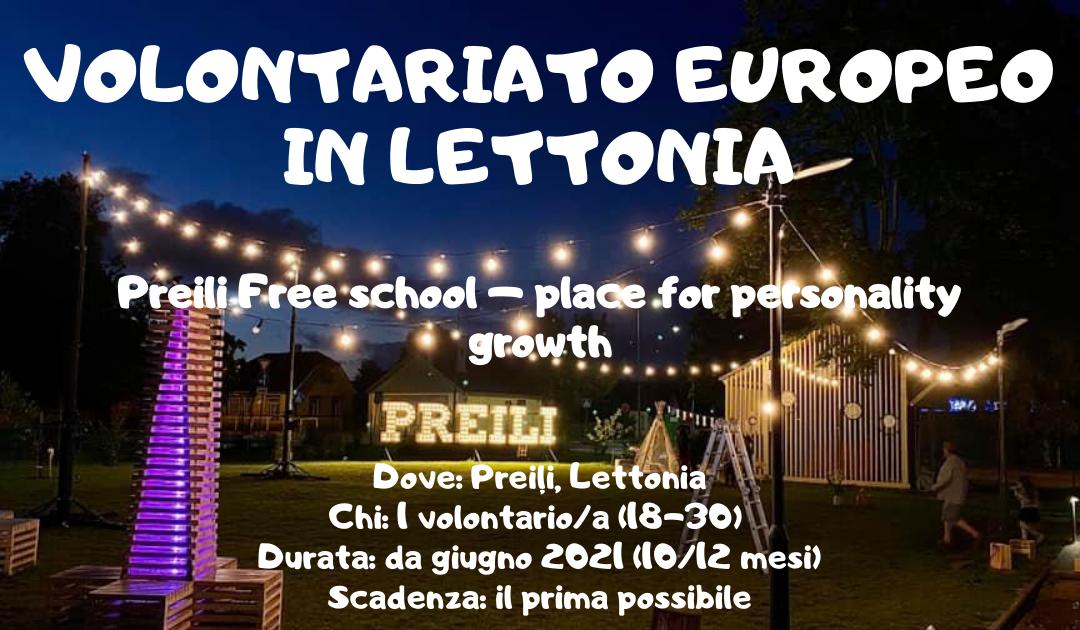 Volontariato Europeo in Lettonia