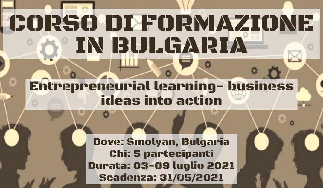 Corso di Formazione in Bulgaria