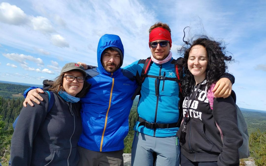 Quattro avventurieri nelle foreste finlandesi